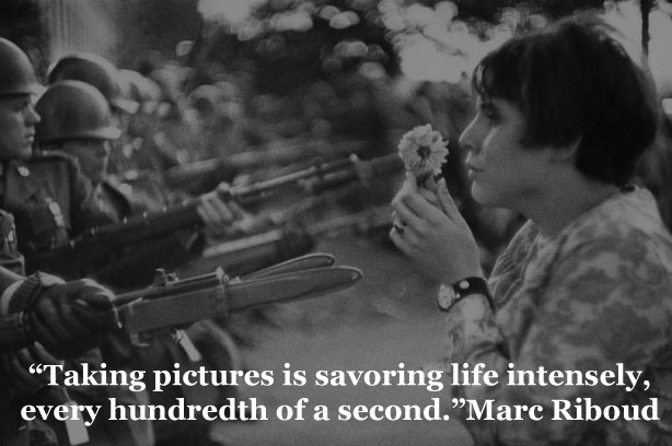 Quotes by Marc-Riboud