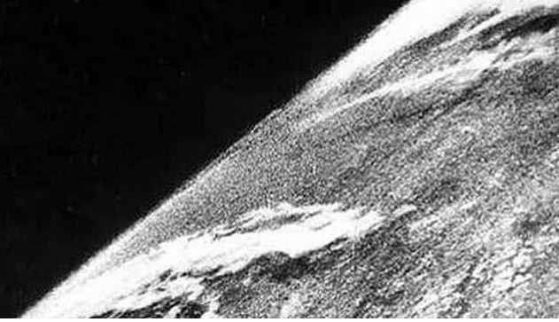 first photograph of space