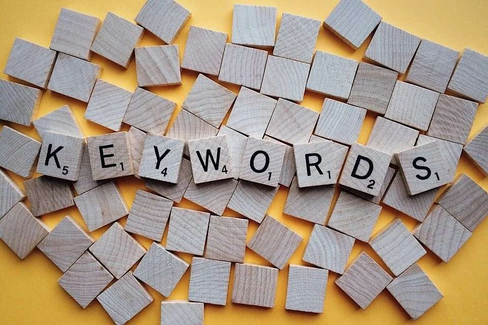 Importance of keywords used for stock photos